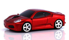 1600DPI Ferrari USB 2.4G Wireless car Mouse Optical Mice for Laptop Mac PC Red