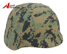 Airsoft Paintball Tactical M88 PASGT Kelver Swat Helmet Cover --Digital Woodland
