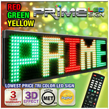 "26mm TriColor 53""x19"" Programmable Commercial Outdoor LED Signage"