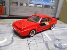 Opel Manta B 400 Coupe 1983 rojo red transformación BBS vitesse based 1:43
