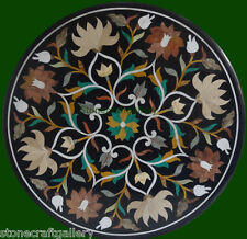 2' Marble Table Top  Inlay Pietra dura Handicraft Home Decor for Gift