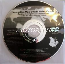 Genuine GM Navigation DVD Map # 20883771 Version 8.3 United States and Canada