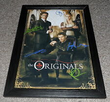 "THE ORIGINALS CASTX5 PP SIGNED & FRAMED 12X8"" A4 POSTER VAMPIRE DIARIES SEASON 2"