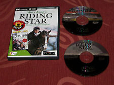 Mary King's Riding Star + EQUESTRIAD Horse Riding Games Lucinda Green PC CD ROM