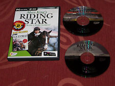 Mary king's riding star + equestriad équitation jeux lucinda green pc cd rom