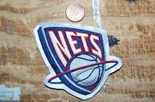 "New Jersey Nets 3 1/2"" Patch Defunct 1997-2012 Primary Logo Basketball"