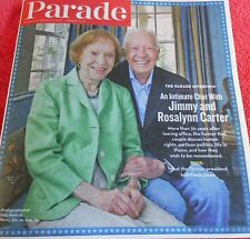 PARADE MAGAZINE NOVEMBER 2013 INTIMATE CHAT WITH JIMMY AND ROSALYNN CARTER