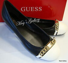 GUESS Jeans Shoes Flat Flats Heel Flip Flops Sandals Flop shoe Ballet NIB  7