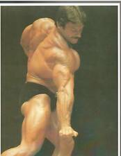 bodybuilder MIKE MENTZER 1976 IFBB Mr America Bodybuilding Muscle Photo Color