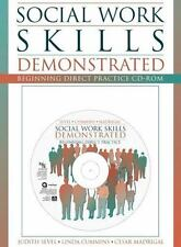 Social Work Skills Demonstrated: Beginning Direct Practice CD-ROM with-ExLibrary