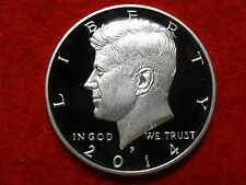 2014 P 90% SILVER KENNEDY 50th ANNIV PROOF DEEP CAMEO GEM HALF DOLLAR