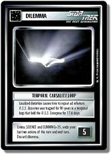 Star Trek CCG Premiere BB Limited Temporal Causality Loop