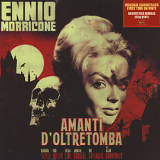 LP ENNIO MORRICONE -  AMANTI D'OLTRETOMBA VINILE BLOODY RED MARBLE - OST 180 g