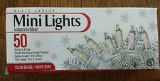 BASIC SERIES 50 MINI CHRISTMAS LIGHTS INDOOR OUTDOOR