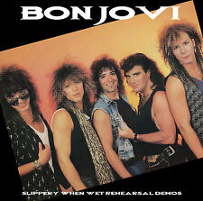 Bon Jovi Slippery When Wet Rehearsal Demos CD