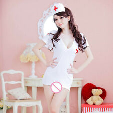 Sexy Womens Lingerie Set Nurse Uniform Costumes Fancy Dress Outfits Sleepwear