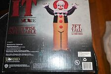Halloween Inflatable 7 ft Tall IT Clown Pennywise Lawn Decoration Prop NEW!