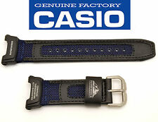 ORIGINAL CASIO watch band STRAP PROTREK Pathfinder black BLUE PAG-240B PAG240B