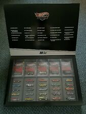 HOT WHEELS 2011 REAL RIDERS GARAGE 30 CAR SET VW DRAG BUS '67 FORD BRONCO '70...