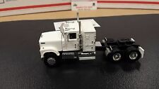 1/64 WHITE 30010 TOP SHELF REPLICAS TSR IH 4300 CONVENTIONAL SEMI CAB TRUCK DCP