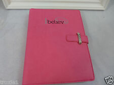 New Tupperware Pink Journal  Data Book  Pen  Award I Belive 2014 Can Be Used Now