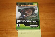 Operation Flashpoint: Elite (Xbox) NEW SEALED BLACK LABEL Y-FOLD W/UPC, MINT!