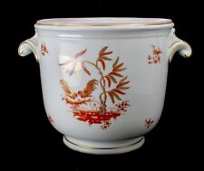 "Richard Ginori Large Porcelain Planter Jardiniere Cachepot 9""dia x10""tall"
