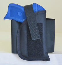 Elastic Ankle Holster for RUGER LC9 with Underbarrel Laser