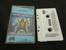 AGGRESSOR ULTRA RARE CASSETTE TAPE! GOLDEN EARRING KISS STATUS QUO THIN LIZZY