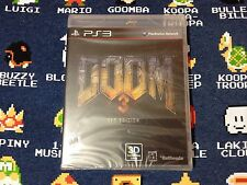 Doom 3: BFG Edition BRAND NEW SEALED  (Sony PlayStation 3, 2012)