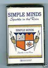 CASSETTE TAPE NEW SIMPLE MINDS SPARKLE IN THE RAIN