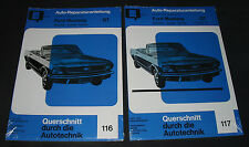 Reparaturanleitung Ford Mustang I GT Fairlane Comet Falcon Band 1 + 2 NEU ab ´64