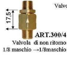 Rückschlagventil 1/8 Pollici 5,5 Bar Caldaia Ferro A Vapore - Detergente