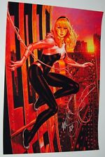 Mark Brooks SIGNED Marvel Comics Spiderman Art Print ~ Spider Gwen