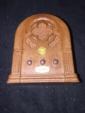 Vintage 1974 Chadwick-Miller Old Time Style Radio Music Box Happy Days Hong Kong