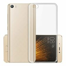 Clear Ultra Slim Gel Case and Glass Screen Protector for Xiaomi Mi 5