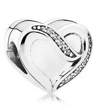 bijoux PANDORA, Liebesband Argent Charm 791816CZ