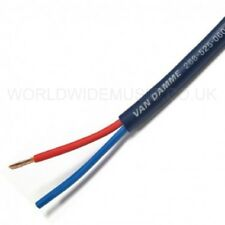 Van Damme Blue Series Studio Grade Speaker Cable 2.5mm BY THE METRE 268-525-060