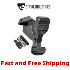 Strike Industries Gen 2 Enhanced Bolt Catch -Enlarged Release Paddle w/ Hardware