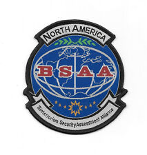 Resident Evil North America BSAA Logo Weave Patch, NEW UNUSED