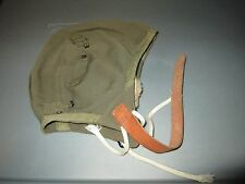 World War II US Army Air Force AAF Type A-9 Pilots Cloth FIGHT Helmet Medium