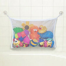 Baby Toy Mesh Storage Bag Bath Doll Organizer Suction Bathroom Stuff Net Funky