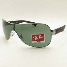 Ray Ban RB 3471 004/71 Gunmetal Green New Authentic