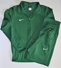 Brand New Nike 2PC Set Tracksuit Zip Up Jacket & Pants Green Men's Size XS
