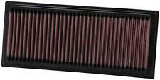 K&N Air Filter Element 33-2761 (Performance Replacement Panel Air Filter)