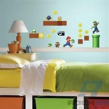 Nintendo Super Mario Build A Scene Wall Decals Peel & Stick - 45 Decals
