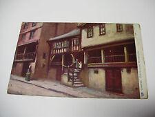 Lot78v - 1905 CHESTER OLD HOUSES - WATERGATE Tucks Oilette POSTCARD
