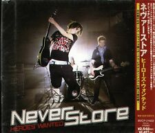 Neverstore - Heros Wanted - JAPAN CD+3BOUNDS-2VIDEO - NEW - 18Tracks