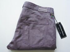 $1260 STEFANO RICCI Light Purple Linen Cotton Pants Slacks Jeans 38 US 54 Euro
