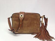 Michael Kors Brooklyn Suede Large Camera Bag  MSRP-$398   (#11.4)
